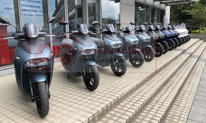 Xe máy điện Yamaha EC-05 tại Đài Loan